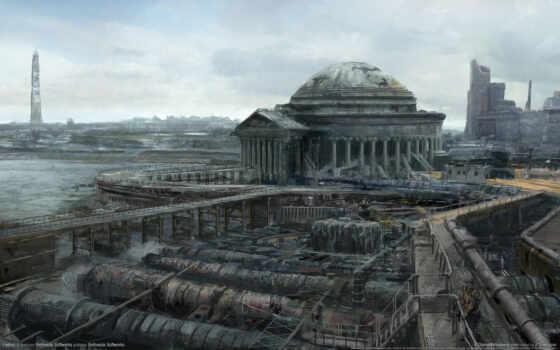 fallout, руины