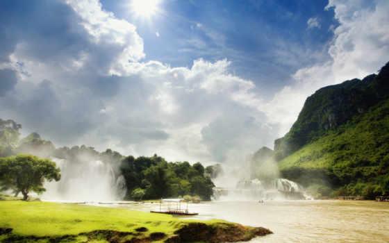 река, desktop, рай