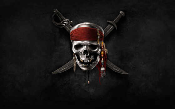 pirates, caribbean, logo