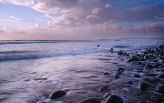 побережье, небо, ponsel, природа, hdr, пляж, море,