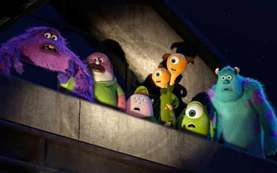 monsters, university, inc, pixar, disney,