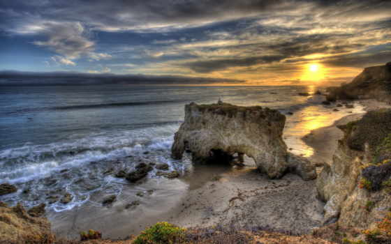 matador, пляж, malibu, california, state, beaches, фото,