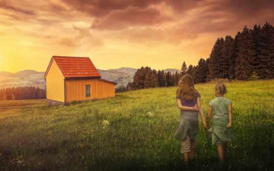девочки, girls, chris, desktop, фотографий, grasslands, house, frank,