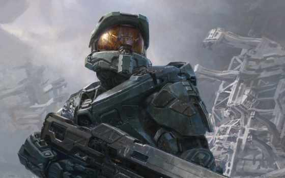 halo, master, art, chief, concept, digital, фон, john, cover,