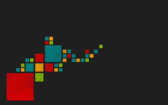 стиль, арт, квадраты, черный, креатив, pixels, минимализм, форматы, colored, squares, pixel,