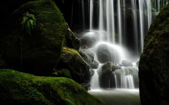 водопады, картинка, fantasy, world, корабли, inicio, galeria,