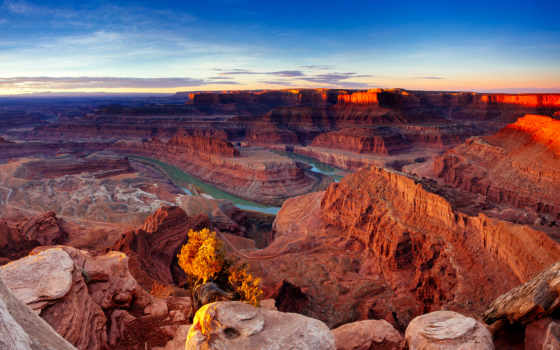 сша, park, природа, река, скалы, utah, каньон, горы, national, state,