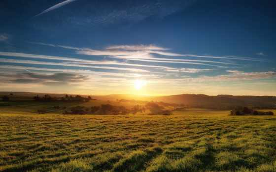природа, desktop, закат, landscape, full, resolutions,