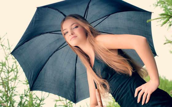 модель, девушка, позирует, черным, зонтом, russian, музыка, club, images,