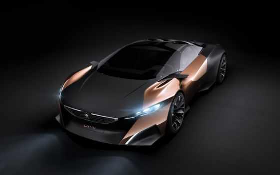 peugeot, onyx, concept, car, суперкар, картинка,