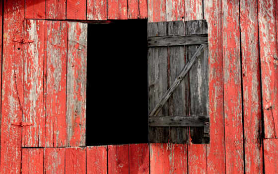 red, доска, barn, дверь