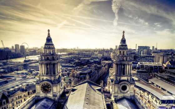 город, architecture, house, building, небо, панорама, закат, вечер, красивый, улица