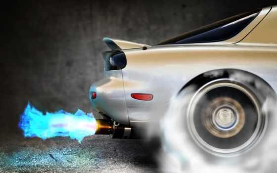 exhaust, огонь, трубы