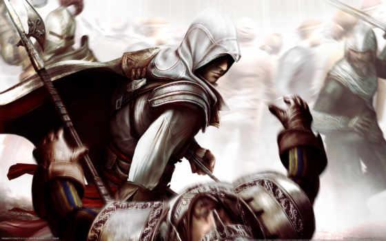 creed, assassin, ezio