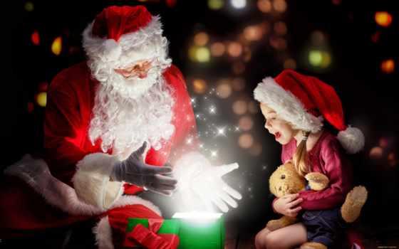 год, new, магия, года, нового, дар, иней, toy, дед, девушка, день,