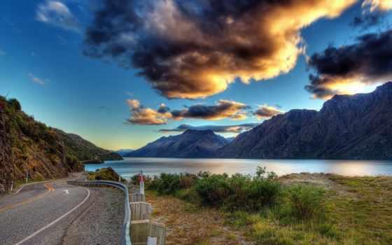природа, пейзажи -, заставки, красивые, дорога, рыбалка, geneva,