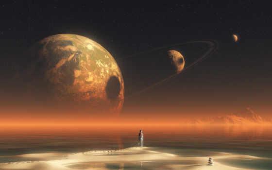 stars, planets