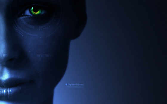 eye, green