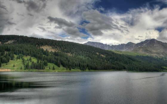 lake, mountain Фон № 16751 разрешение 1920x1200