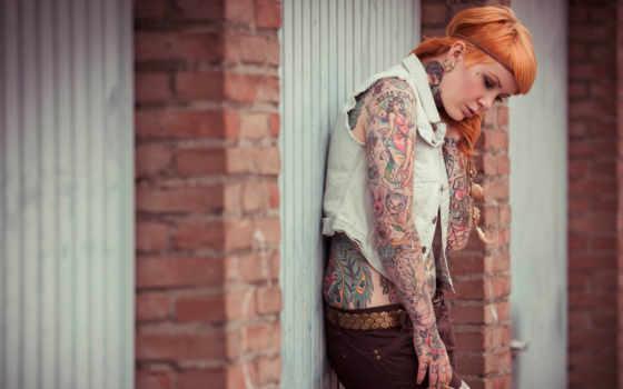 татуировка, татуировки, взгляд, desktop, girls, женские,