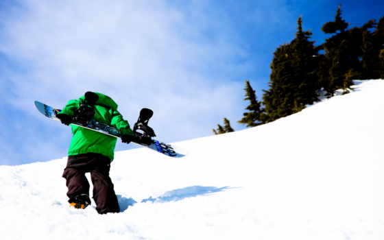 обои, сноуборд, snowboard, спорт, трамплин, ночь,