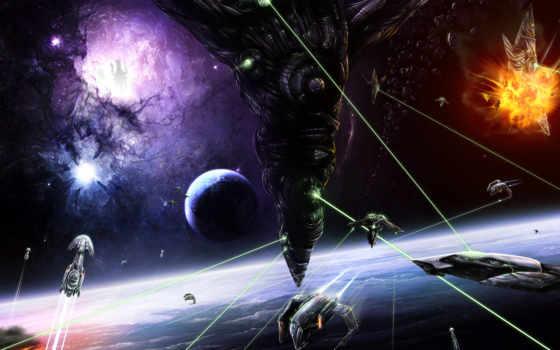 космос, планеты, outer, junk, artwork, космические, произведения, пространство,