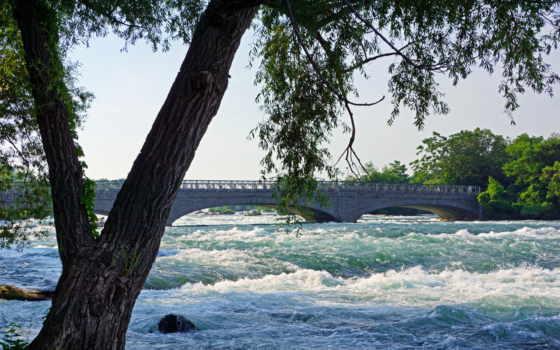водопады, priroda, сша