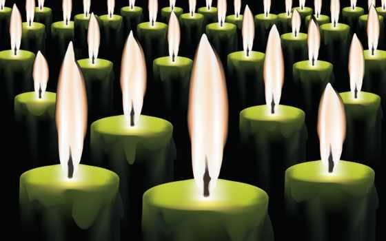 огонь, фотографий, свечи