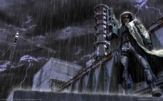 stalker, аэс, дождь
