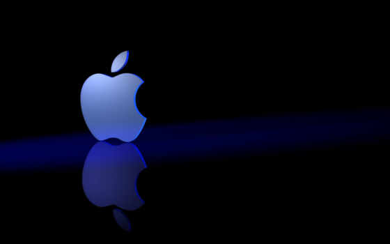 apple, blue, темы
