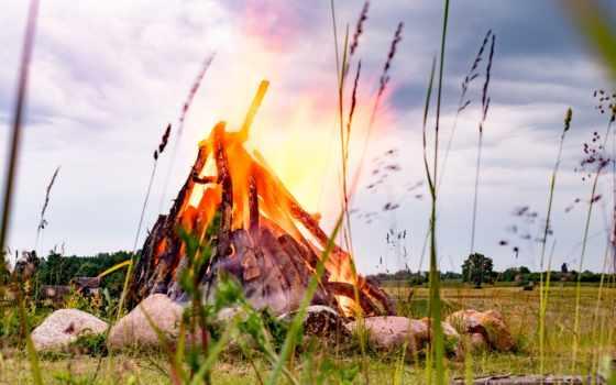 līgo, svētku, картинка, midsummer, волшебные, ligo, fantasy, огонь, лошади,