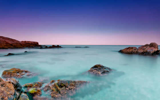 ecran, fond, haute, qualité, природа, бирюзовый, fonds, les, рифы, мер,
