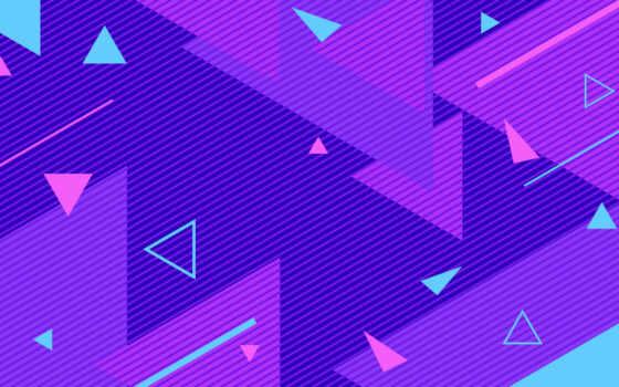 ретро, purple, geometric, абстракция, neon, вектор, волна, line, фон, геометрия