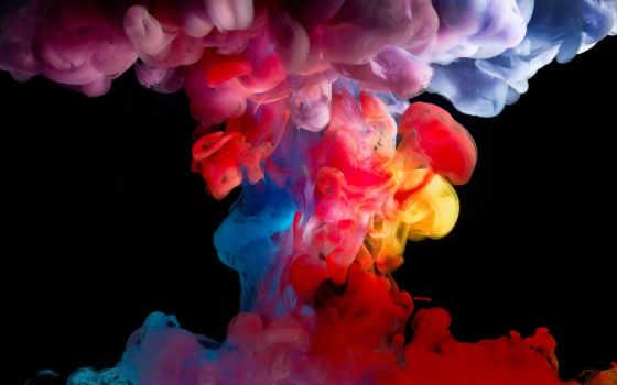 art, water, живопись, краска,