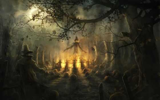 halloween, ночь, да, скоро, где, stars,