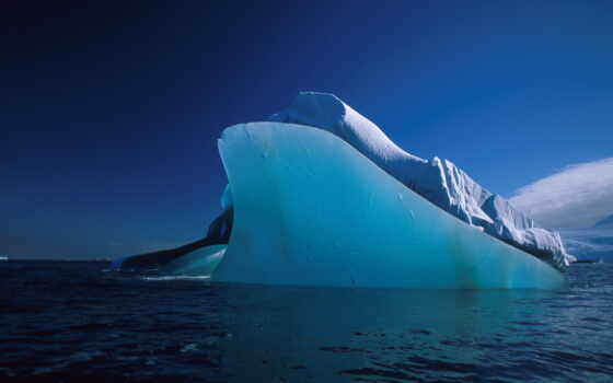 море, iceberg, лед, waters, ocean, winter, льдина, воздуха, айсберги,