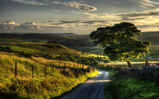 природа, пейзаж