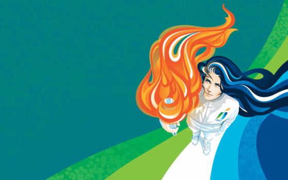 олимпиада, ванкувер, факел