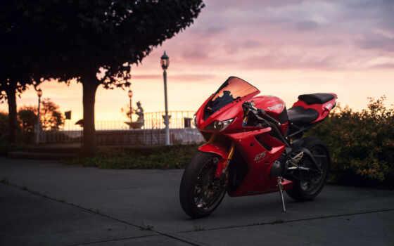 спортбайк, мотоцикл, triumph Фон № 100529 разрешение 1920x1200