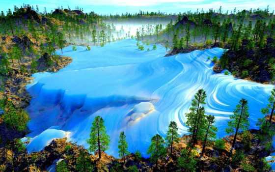 tundra, permafrost, arctic, glacier, лед, снег, pack, холод,