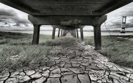 трава, молотый, текстура, bridging, трещина, meaning, top, images, засохшая, cracked, сне,