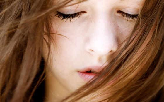 eyes, closed, девушка, люди, их, desktop, girls,
