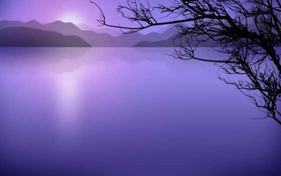 озеро, красивые, фотообои, просмотров, красавица, vladstudio, стиль, природы, branch, темы,