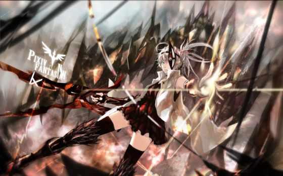 anime, дракон, slayer