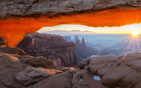 арка, national, park, mesa, canyonlands