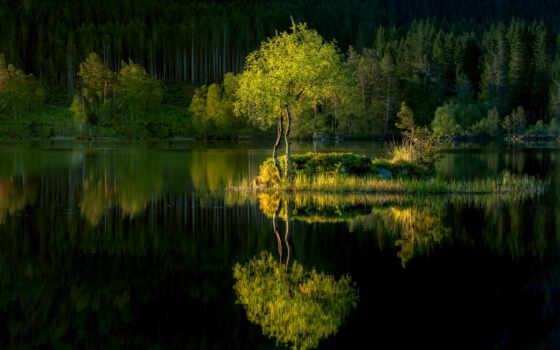 отражение, река, напиток, water, ручей, ochutitsya, pleasant, тепло, ждать, stay, лет