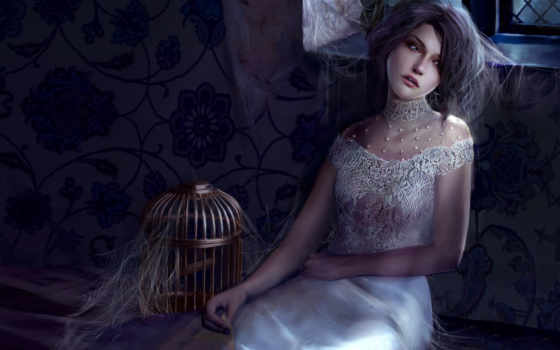 fantasy, girl, фентези, gothic, girls, artwork, dreamies, девушки, devushki, показать, sad, art, влад, стиле, часть,