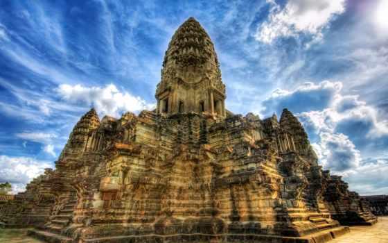 ангкор, камбоджа, ват