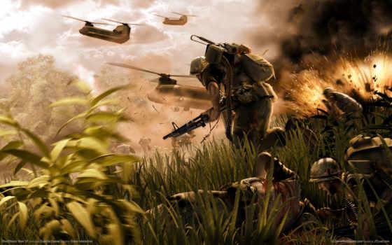 war, vietnam, soldiers