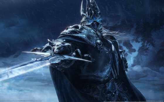 warcraft, меч, game, world, king, лич, оружие